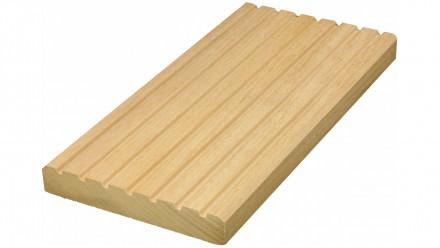 TerraWood Holzterrasse - GARAPA PRIME 25 x 145mm gerillt/genutet