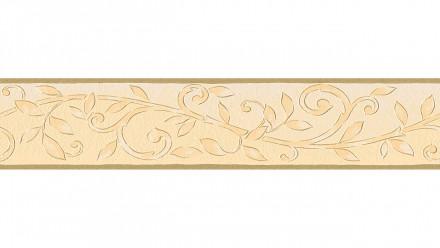 Vinyltapete Bordüre beige Vintage Landhaus Retro Ornamente Blumen & Natur Only Borders 10 038