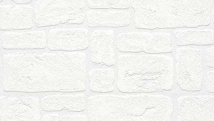 Vinyltapete Steintapete weiß Modern Steine Simply White 042