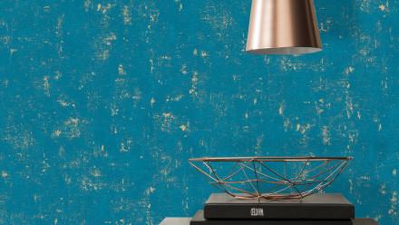 Vinyltapete blau Modern Uni Trendwall 768