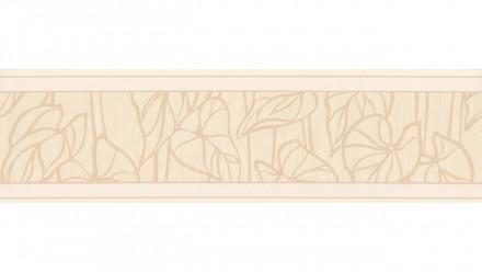 Vinyltapete Bordüre weiß Modern Blumen & Natur Only Borders 10 025