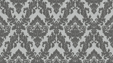 Vinyltapete Beflockt Castello Architects Paper Ornamente Grau 823