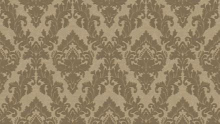 Vinyltapete Beflockt Castello Architects Paper Ornamente Braun 824