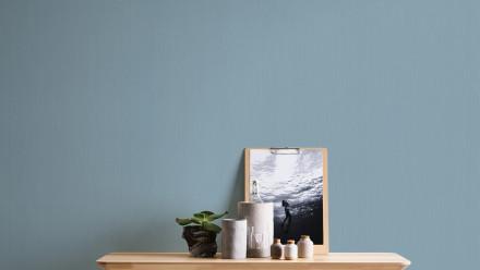 Vinyltapete blau Klassisch Uni Styleguide Trend Colours 2021 428