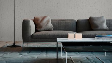 Vinyltapete Beton Concrete & More A.S. Création Unifarben Betonoptik Grau 701