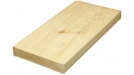 TerraWood Holzterrasse - LÄRCHE sibirisch 40 x 143mm beidseitig gerillt