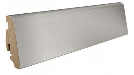 Haro Sockelleisten für Parkett - 19 x 58 mm - Aluminium/ MDF-Träger