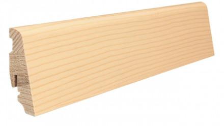 Haro Sockelleisten für Parkett - 19 x 58 mm - Lärche weiß