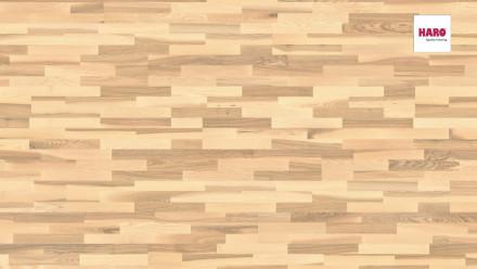 Haro Parkett Serie 4000 Esche lichtweiß Favorit strukturiert