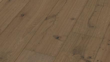 MEISTER Lindura-Holzboden - HD 400 Eiche rustikal lehmgrau XL-Diele naturgeölt 8411