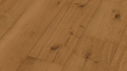 MEISTER Lindura-Holzboden - HD 400 Eiche rustikal goldbraun XL-Diele naturgeölt 8514