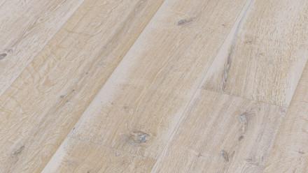 MEISTER Lindura-Holzboden - HD 400 Eiche authentic white wash XL-Diele naturgeölt 8742