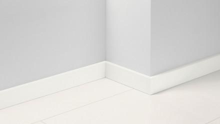 Parador Sockelleisten SL 18 - 16,5x70mm - Uni weiß Glanz Dekor