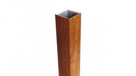 planeo Basic - Pfosten zum Einbetonieren Golden Oak 185 cm