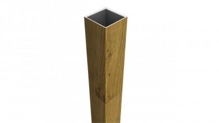 planeo Basic - Pfosten zum Aufdübeln Asteiche Natur 195 cm