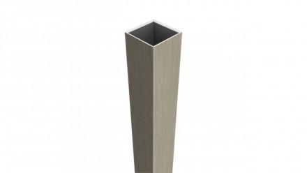 planeo Basic - Pfosten zum Aufdübeln Sheffield Oak 195 cm