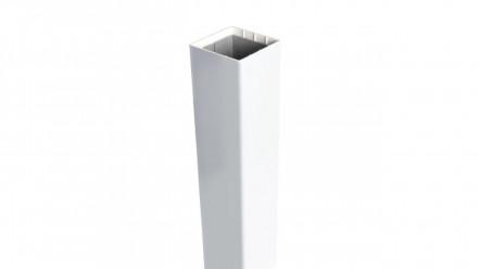 planeo Basic - Pfosten zum Einbetonieren weiß 155 cm