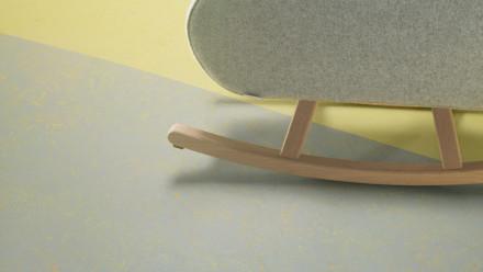 planeo Linoleum Concrete - yellow shimmer 3733