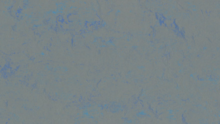 planeo Linoleum Concrete - blue shimmer 3734