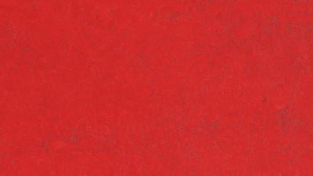 planeo Linoleum Concrete - red glow 3743