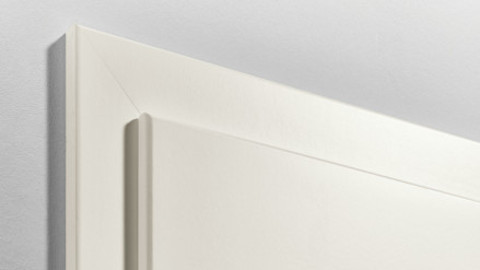 Zarge Standard Rundkante Weißlack 9010 - 2110mm