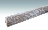 MEISTER Sockelleisten Fußleisten Eiche white washed Lindura - 2380 x 60 x 20 mm
