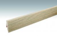 MEISTER Sockelleisten Fußleisten Eiche Alabaster 1176 - 2380 x 60 x 20 mm