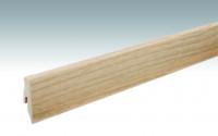 MEISTER Sockelleisten Fußleisten Eiche pure 1177 - 2380 x 60 x 20 mm
