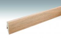 MEISTER Sockelleisten Fußleisten Eiche creme gekälkt 1190 - 2380 x 60 x 20 mm