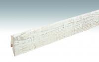 MEISTER Sockelleisten Fußleisten Eiche weiß 1206 - 2380 x 60 x 20 mm