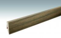 MEISTER Sockelleisten Fußleisten Nussbaum amerikanisch 1210 - 2380 x 60 x 20 mm