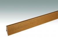MEISTER Sockelleisten Fußleisten Eiche kupferbraun 1219 - 2380 x 60 x 20 mm