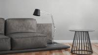 Vinyltapete Beton Concrete & More A.S. Création Unifarben Betonoptik Grau Weiß 074