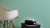 Vinyltapete grün Modern Klassisch Uni Colibri 294