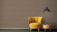 Vinyltapete Absolutely Chic Architects Paper Modern Unifarben Metallic Braun Grau 701