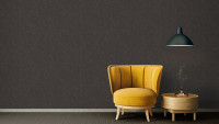 Vinyltapete Absolutely Chic Architects Paper Modern Unifarben Metallic Schwarz Braun 742