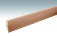 MEISTER Sockelleisten Fußleisten Buche 6201 - 2380 x 60 x 20 mm