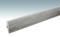 MEISTER Sockelleisten Fußleisten Risseiche cappuccino 6318 - 2380 x 60 x 20 mm