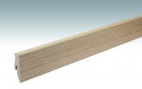 MEISTER Sockelleisten Fußleisten Eiche Chiemsee hell 6376 - 2380 x 60 x 20 mm
