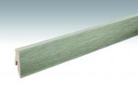 MEISTER Sockelleisten Fußleisten Eiche Arcadia 6412 - 2380 x 60 x 20 mm