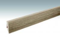 MEISTER Sockelleisten Fußleisten Eiche Nova 6413 - 2380 x 60 x 20 mm