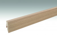 MEISTER Sockelleisten Fußleisten Feldeiche hell 6843 - 2380 x 60 x 20 mm