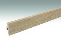 MEISTER Sockelleisten Fußleisten Fjordeiche hell 6846 - 2380 x 60 x 20 mm
