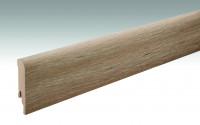 MEISTER Sockelleisten Fußleisten Eiche gekälkt 6027 - 2380 x 80 x 16 mm