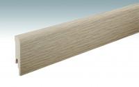 MEISTER Sockelleisten Fußleisten Risseiche hell 6258 - 2380 x 80 x 16 mm