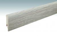 MEISTER Sockelleisten Fußleisten Eiche cappuccino 6263 - 2380 x 80 x 16 mm