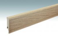 MEISTER Sockelleisten Fußleisten Eiche Chiemsee hell 6376 - 2380 x 80 x 16 mm