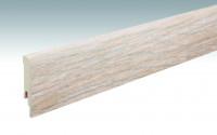 MEISTER Sockelleisten Fußleisten Eiche Bodega 6403 - 2380 x 80 x 16 mm