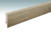MEISTER Sockelleisten Fußleisten Eiche Nova 6413 - 2380 x 80 x 16 mm