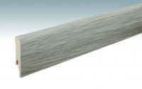 MEISTER Sockelleisten Fußleisten Eiche Barista 6420 - 2380 x 80 x 16 mm